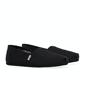 Toms Mens Classic Alpargata Men's Slip On Trainers - Black