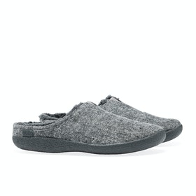 Toms Berkeley Men's Slippers - Grey Slub