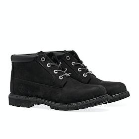 Timberland Nellie Chukka Double Women's Boots - Black Nubuck