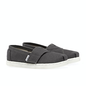Toms Mini Classics Kid's Slip On Trainers - Ash