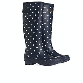 Stivali di Gomma Donna Joules Printed - Navy Spot