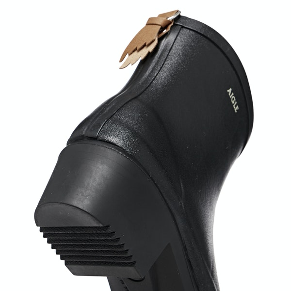 Aigle Miss Juliette Bottillon Heeled Ankle Womens Holínky