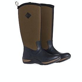 Muck Boots Arctic Adventure Women's Wellington Boots - Black Tan
