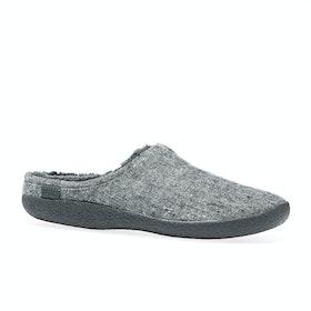 Toms Berkeley Slippers - Grey Slub