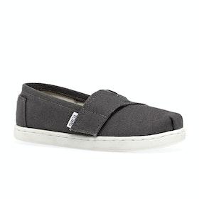 Toms Mini Classics Kids Slip On Shoes - Ash