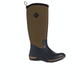 Muck Boots Arctic Adventure Womens Wellies - Black Tan