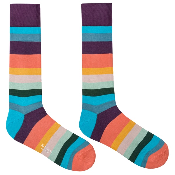Meias Paul Smith Artist Stripe