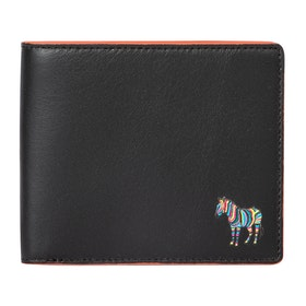 Paul Smith Bfld Zebra Wallet - Black