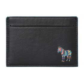 Paul Smith Cc Zebra Wallet - Black