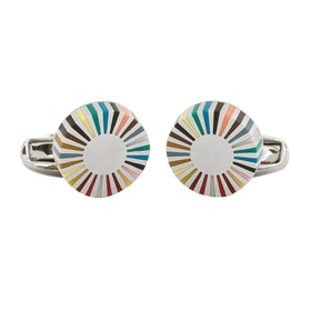 Paul Smith Mlt Edge Cufflinks - Multicoloured