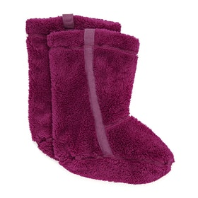 Barbour Primrose Fleece Ladies Welly Socks - Purple Cerise