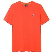 Paul Smith Reg Fit Zebra Short Sleeve T-Shirt