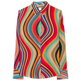 Paul Smith Gili Women's Shirt - Orange Multi
