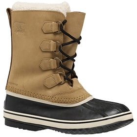 Sorel 1964 Pac 2 Faux Fur Ladies Boots - Bluff Black