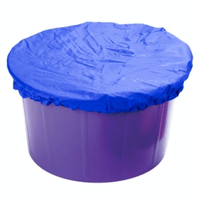 Lincoln Elasticated Feed Bucket Cover - Blue