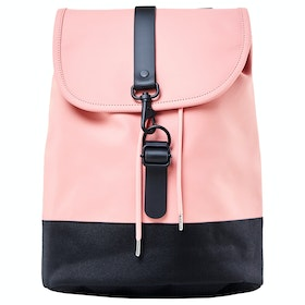 Rains Drawstring Backpack - Coral