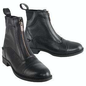 Tredstep Giotto II Front Zip Paddock Boots - Black