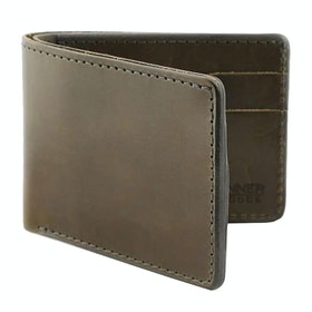 Tanner Utility Bifold Tegnebog - Olive Foliage Harness Leather