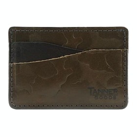 Tanner Journeyman Card Holder - Olive Foliage