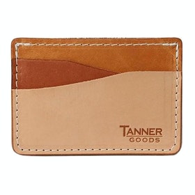 Tanner Journeyman Card Holder - Sahara