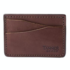 Tanner Journeyman , Card Holder - Cognac