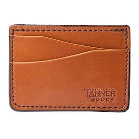 Card Holder Tanner Journeyman - Saddle Tan