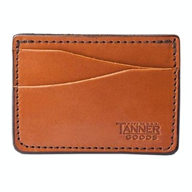 Tanner Journeyman , Card Holder - Saddle Tan