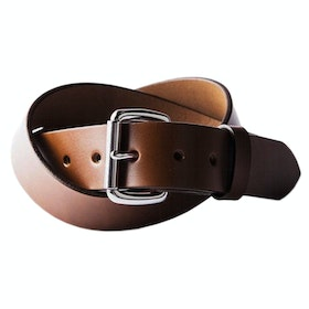 Tanner Standard Leather Belt - Cognac / Stainless