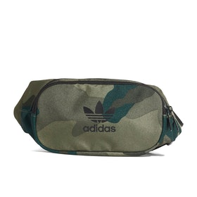 Adidas Originals Camo Waist Bum Bag - Multicolor