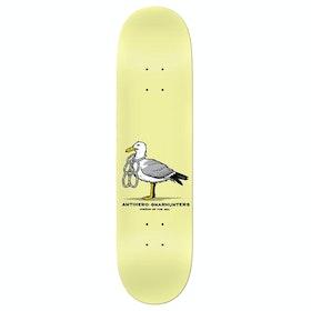Anti Hero x Gnarhunters Skateboard Deck - Yellow