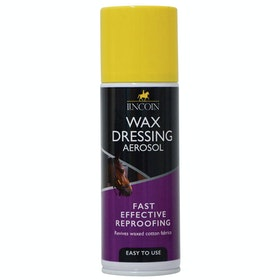 Lincoln Wax Dressing Aerosol Garment Proof - Clear