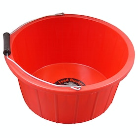 Prostable Feed Bucket - Red