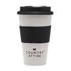 Country Attire Bamboo Travel Mug