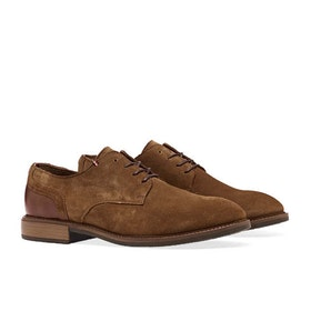 Dress Shoes Tommy Hilfiger Elevated Material - Cognac