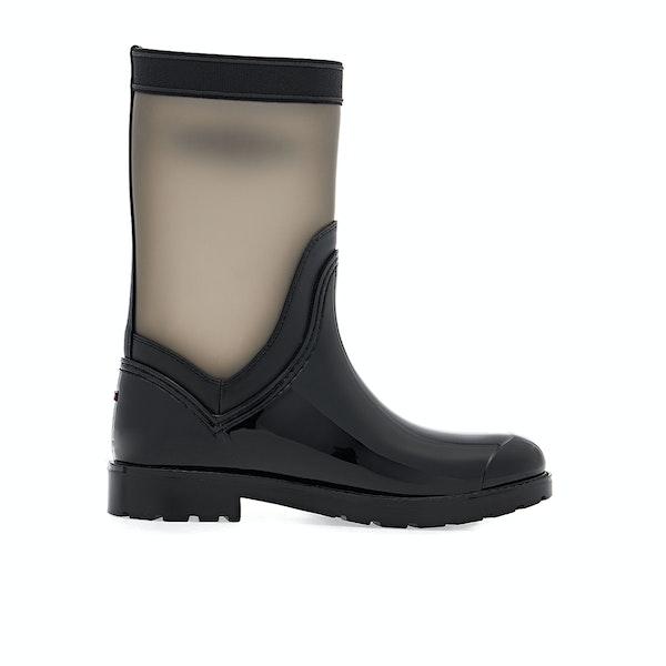 Tommy Hilfiger Translucent Detail Women's Boots