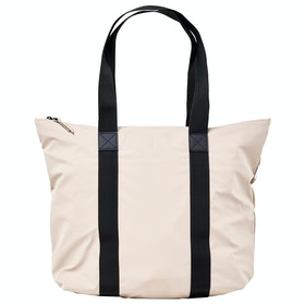 Rains Tote Rush Shopper Bag - 35 Beige