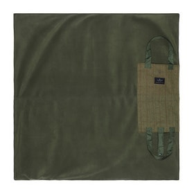 Country Attire Leisure Rug Tweed Blanket - Sage/olive/olive