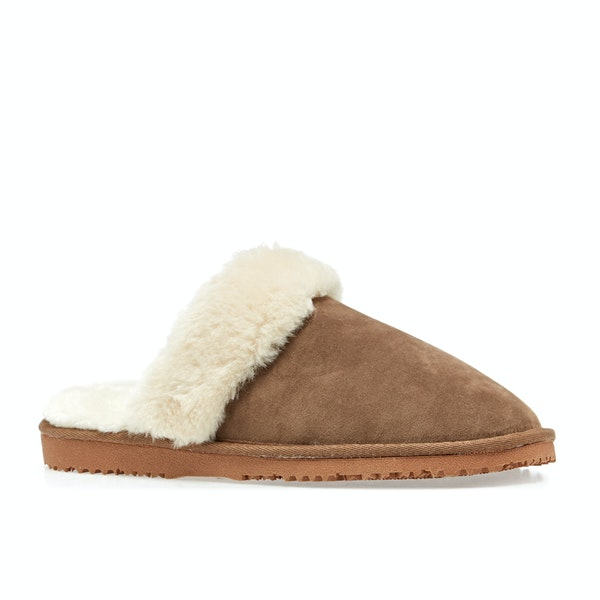 Ciabatte Donna Country Attire Faux Fur