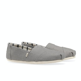 Toms Essential Canvas Women's Slip On Trainers - Morning Dove