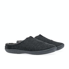 Toms Berkeley Slippers - Black Woolen