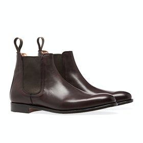 Buty Męskie Cheaney Made in England Threadneedle Chelsea - Burgundy