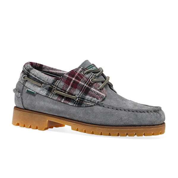 Sebago X Pendleton Acadia Suede Wool Dress Shoes