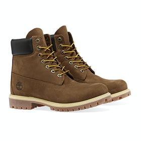 Timberland Icon 6in Premium Waterproof Men's Boots - Rust Nubuck