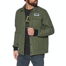 Fox Racing Speedway Jacket - Olive Green