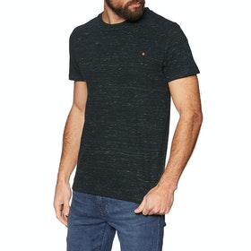 T-Shirt a Manica Corta Superdry Ol Vintage Embroidery - Vast Black Space Dye