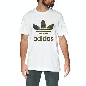 Adidas Originals Camo Infill Short Sleeve T-Shirt - White