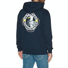 Anti Hero x Gnarhunters Pullover Hoody - Deep Navy