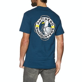 Anti Hero x Gnarhunters Short Sleeve T-Shirt - Harbor Blue