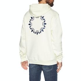 Adidas Pinwheel Pullover Hoody - Off White Tech Indigo