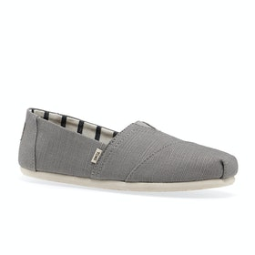 Toms Essential Canvas Womens Slip On Shoes - Morning Dove